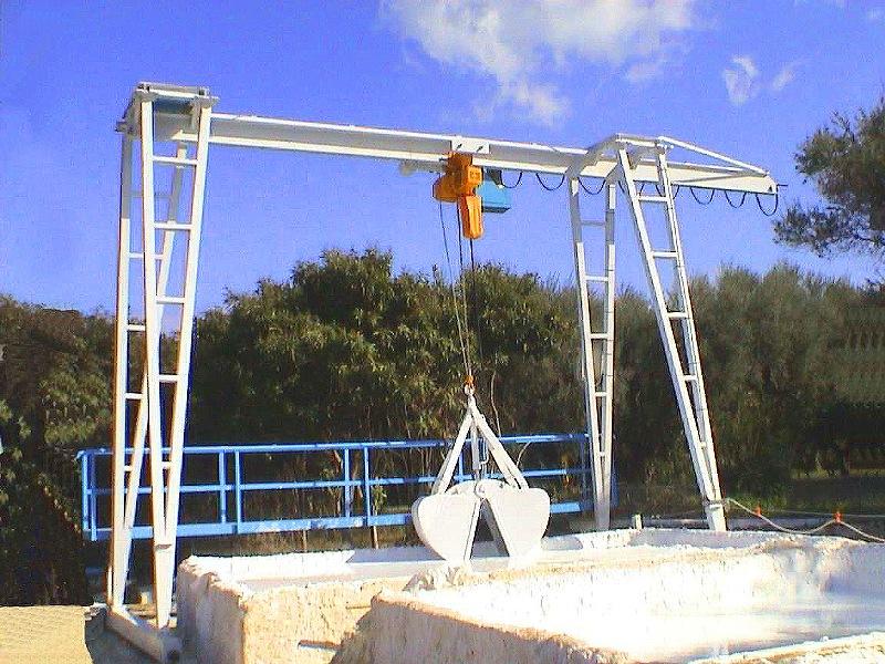 Φωτογραφίες κατηγορίας Γερανογέφυρες εξαγωγής ασβεστοπολτού